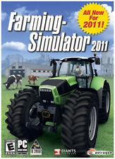 Farming Simulator 2011 - PC Brand New! Platform: WIN 95,98,ME,2000,XP,VISTA,WIN