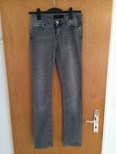 ZARA BASIC JEANS taille 38 M Bootcut straight gris