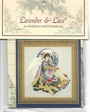 """COMPLETE XSTITCH MATERIALS w/ LINEN - """"WORLD PEACE ANGEL  LL51"""""""