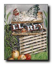 Chicken Rooster Hen Kitchen Animal Wall Decor Art Print Poster (16x20)