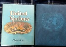 UNITED NATIONS STAMP COLLECTION IN 2 HARRIS ALBUMS