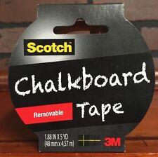 Scotch Removable Chalkboard Tape 1.88 X 5 yards New Stock 478