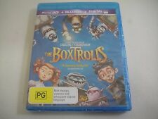 The Boxtrolls 3D (2014) - Blu-Ray Region Free | New | Laika Collection