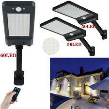 LED Solarleuchte mit Bewegungsmelder Außen Fluter Gartenstrahler Solar Lampe