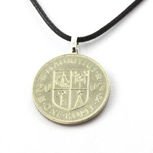 Necklace Coin Maurice 1 Rupee