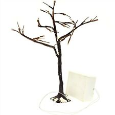 "Department 56 Village 9"" Frosted Bare Branch Tree w/ Lights 52434"