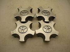 "Lot of 4- 99-03 Toyota Solara 15"" 7 Spoke Wheel Center Caps Hubcaps OEM"