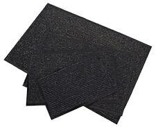 Schmutzfangmatte schwarz - 60 x 90 cm - Fußmatte Fußabtreter Türmatte Außen