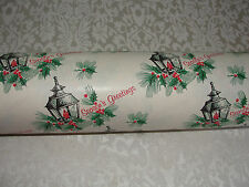 Vintage Wrapping Paper 30 Feet off Store Roll