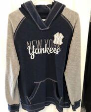 New York Yankees Majestic Fan Fashion Women's Hoodie Sweatshirt Size XL
