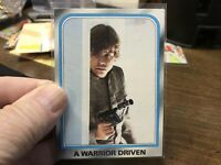 1980 O-Pee-Chee Star Wars: The Empire Strikes Back A Warrior Driven #212