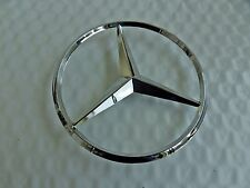 New for Mercedes Benz ML Chrome Star Trunk Emblem Badge 90mm 3 Pin Free Ship