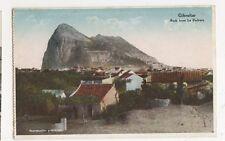 Gibraltar, Rock from La Pedrera Postcard, B192