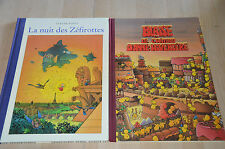 2 livres L'école des Zéfirotte - Ecole des Loisirs Claude Ponti / grands formats