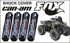 Shock CoverS CAN-AM outlander renegade 800 1000 2020 2021 couvertures d'amortiss