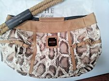 MICHE bag shell NEW in pkg BIANCA + pr BRAID handles fits  DEMI size base purse