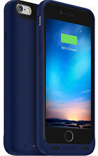 mophie Apple iPhone 6s 6 Juice Pack Reserve Battery Case Blue