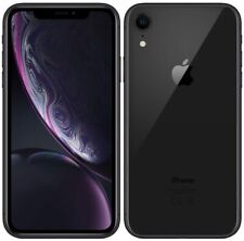 "Apple iPhone XR MRY42B/A 4G 6.1"" Smartphone 64GB SIM Free Unlocked - {Black} C"