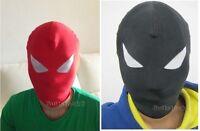 Lycra Spandex Zentai Costume Halloween Party Mask & Hood Costume Accessory