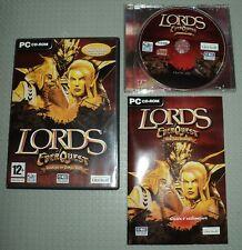 lords of everquest strategie en temps réel jeu PC