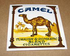 """1 Vintage CAMEL Cigarettes Vending Machine Plastic Label Tag 2"""" x 2"""""""