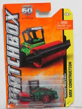 MATCHBOX 2013 MBX  CONSTRUCTION ROAD ROLLER GREEN