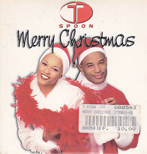 T Spoon-Merry Christmas cd single