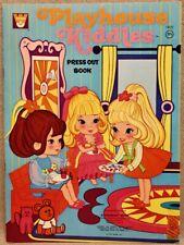 1971 PLAYHOUSE KIDDLES PRESS-OUT Book - WHITMAN #1921 - RARE UNCUT ORIGINAL