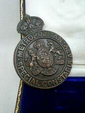 Large Metropolitan Special Constabulary Button Hold Badge In Original Case.