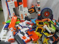 Nerf Bundle Lot + Super Soaker Rival Elite N-Strike Guns Blasters Darts! (ARE)