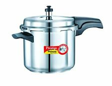 Prestige 3.5L Alpha Deluxe Induction Base Stainless Steel Pressure Cooker, 3.5-L