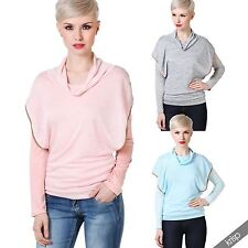 Women's Polyester Thin Knit Long Sleeve Jumpers & Cardigans