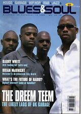The Dreem Teem on Blues & Soul Magazine Cover 1999   Barry White  Brian McKnight