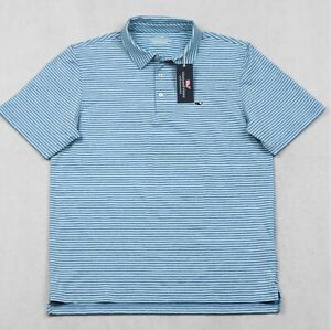 Vineyard Vines Performance Shirt 3-Button Mens Stretch Polo Size L & XL NWT