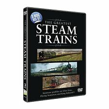 THE GREATEST STEAM TRAINS ULTIMATE DOCUMENTARIES COLLECTION NEW 3 DVD BOXSET R4