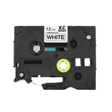 "TZ TZe 231 Black on White Tape For Brother P-touch 12mm Label Maker 1/2"" x 26'"