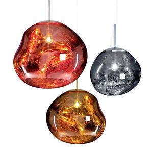 Nordic Modern Melt Pendant Light Suspension Lamp Living Room Bedroom Restaurant