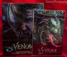 VENOM 3D Steelbook 3D bluray Filmarena WEA Only 500 copies + Marvel Art Cards *