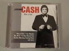 JOHNNY CASH~RING OF FIRE~ 2004 CD~LaserLight~Live Recording~ + 8 songs ~ 1+ SHIP