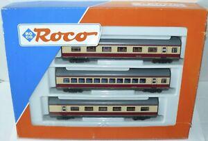 Roco H0 43014 DC ++ Ergänzungs-Set zum Triebwagen VT 11.5 TEE in OVP ++ #D5_435