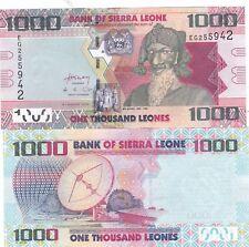 Sierra Leona, 2013, 1000, leones., P-30b, UNC billetes,