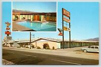 Banning California~Voyager Inn Motel~House of Pancakes~Swimming Pool~1950s Car