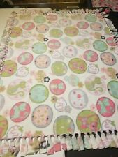 Cat Double Sided Fleece Blanket 48×60