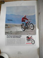 Honda 1970 Motosport 100 SL100 Magazine Advertisement Ad No 12-80-431