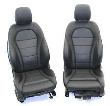 Mercedes W205 C-Klasse Sitze Sitz AMG-Line Lederausstattung Memory Leder schwarz