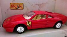 MAISTO TROPHY 1:36 AUTO DIE CAST FERRARI 288 GTO ROSSO ART 21008 USATO