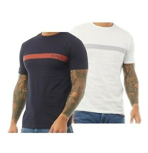 Mens 883 Police Cotton Top Short Sleeve Line Graphic T Shirt Sizes from S to XXL