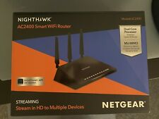 NETGEAR NIGHTHAWK AC2400 SMART WIFI DUAL PROCESSOR MU-MIMO ROUTER
