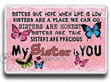 Family Sisters Magnet! Sister Love, Family gift Jumbo size