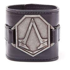 NEW - Assassins Creed Metal Logo PU Wristband (Electronic Games) 8718526062540